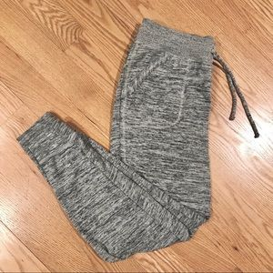 Athleta Knit Gray Joggers in Small